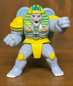 1994 Mighty Morphin Power Rangers Micro Machines King Sphinx with Moving Wings