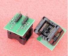 SOP8 turn DIP8 / SOIC8 to DIP8 IC socket Programmer adapter Socket  wide 150mil