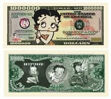 Set of 100 Bills - Betty Boop Million Dollar Bill