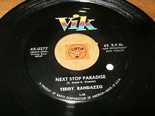 TEDDY RANDAZZO - NEXT STOP PARADISE - HOW COULD YOU KNOW - LISTEN - TEEN POPCORN
