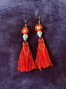 Day Of The Dead Halloween Catrina Earrings Gothic Goth - Uk Seller