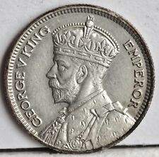 George V. Silver New Zealand Sixpence, 1934 aUNC. Lustrous