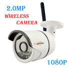 WIFI 1080P Wireless HD IP CCTV Camera Outdoor Security P2P Onvif 36LEDs IR Night