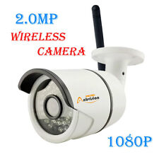 WIFI 1080P Wireless HD IP CCTV Camera Outdoor Security P2P Onvif 36LEDs IR Night