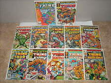 MARVEL TWO-IN-ONE Lot of 62(Marvel 1976-83)Annuals #6,#7 & The THING #1 NM 1983