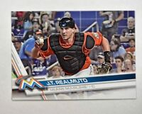 2017 Topps #396 J.T. Realmuto - NM-MT