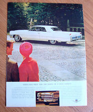 1964 Cadillac Ad When you First Take the Wheel of a 1964 Cadillac