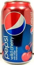 FULL 12 Ounce Can New-Style American Pepsi Wild Cherry Limited Edition 2010 USA
