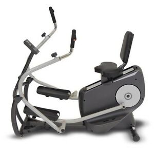 TreadLife Strider TL1 - Recumbent Stepper Elliptical Bike Moving Arms Rehab Knee