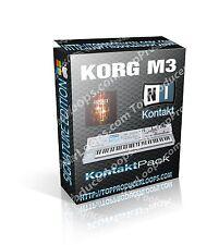 KORG M3 ~ 35GB of KONTAKT SAMPLES ~ Over 30,000 Samples