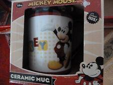 "Brand New in Box ~ Disney Mickey Mouse Ceramic Mug ~  ""Since 1928"" Original (2av"