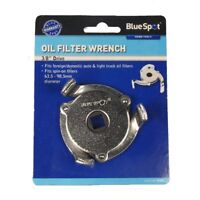 """Bluespot 3/8"""" 3 Leg Oil Filter Remover - Wrench Removal Tool Bs07002 Car Van"""