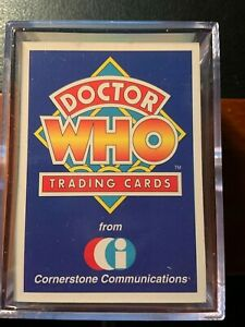 1994 Doctor Who Series 1 Card Set by Cornerstone