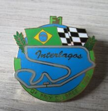 PIN SERIES COLLECTION F1 GRAND PRIX BRESIL INTERLAGOS 1997