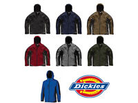 Dickies Two Tone Soft Shell Jacket - Smart Mens Coat JW7010 7 Colours S - XXXL