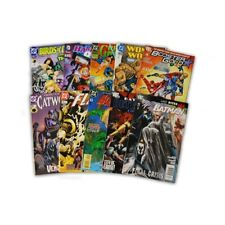 10 Comic Book bundle lot with  10 Random DC Superhero Comic Collection with Batm