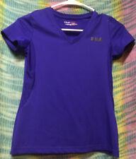Fila Sport Girls Live In Motion V-Neck Purple Size. M (1012)