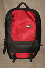 RED & BLACK LOWEPRO FASTPACK 200 CAMERA BACKPACK EXCELLENT CONDITION CAMERA BAG