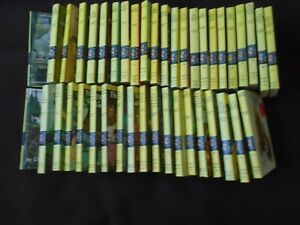 Lot of 42 ~ Vintage Nancy Drew Matte Yellow Spine Hardcover Books ~ Excellent