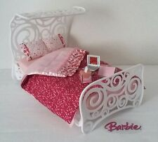 "Mattel Barbie 2005 Fashion Fever Furniture Room ""Sweet Dreams"" Bed & Acc NEW"