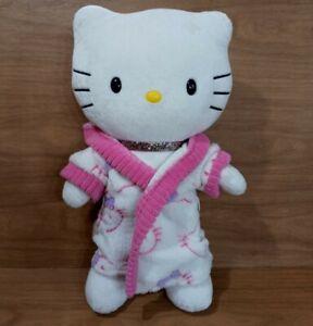 """Build A Bear Hello Kitty 19"""" With Hoodie/Housecoat, Shorts, Happy Birthday"""