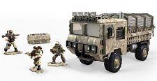 Mega Construx Call Of Duty Transport Truck FVG06 EXTEMELY RARE & HTF!!!