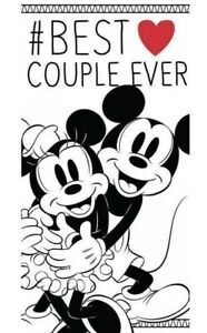 Mickey Mouse & Minnie Mouse large Towel Swimming Holiday 140 x 70