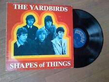 The Yardbirds, Shapes of Things, Import LP, Astan Records, 201-022 Jeff Beck
