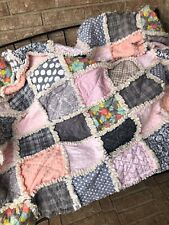 New Ragtime Quilt~Springtime In Pink