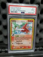PSA 9 Latias Holo Rare 11 Ex Holon Phantoms Mint