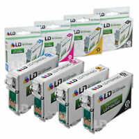 LD Reman Ink Cartridge for Epson T124 Set of 4: T124420 T124320 T124220 T124120
