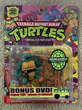 TMNT Teenage Mutant Ninja Turtles 25th Anniversary Mike Michaelangelo Figure MOC