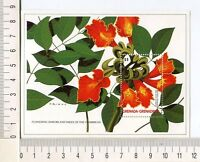 36754) Grenada Grenadines 1988 MNH Flowering Tree S/S