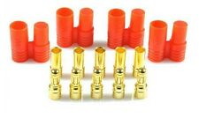 1PC 3.5mm Banana Gold Bullet Connector Plug with Housing for ESC F00914