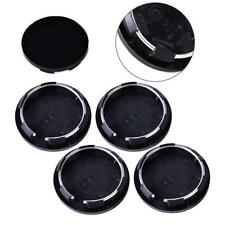 Black 4pcs Universal 50mm Wheel Center Rim Hub Caps Covers Hubcap Tyre Trim Car