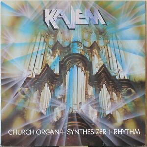 KAJEM s/t LP Classical Music on Church Organ + Synthesizer +Rhythm (bass, drums)