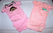 Cute Newborn Size Girls Animal Print one piece tops
