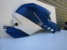 RIGHT TANK TRIM PANEL/FAIRING   BMW K1200S  K40  BLUE-WHITE  PART NO.46637677776