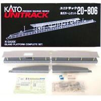 Kato 20-806 Station Quai ile / Station Island Platform Complete Basic Set - N