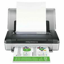 HP Officejet 100 Mobile inc battery, PSU, carry case with new ink home printer