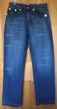 Dsquared2 DC DC Stonewashed Distressed Baggy Jeans Size 34