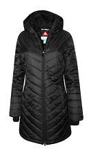 NEW Columbia Morning Light II Omni Heat Long Women's Jacket BLACK XS-S-M-L-XL