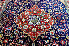 8X11 1940's Museum Masterpiece Mint 300+Kpsi Silk & Wool Rarest Saroukk Wool Rug