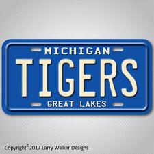 DETROIT TIGERS Michigan Aluminum License Plate Tag New