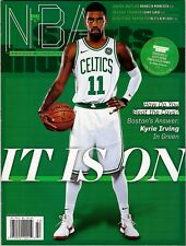 New Sports Illustrated 2017 NBA Preview Kyrie Irving Boston Celtics No Label
