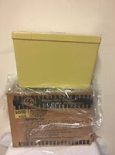 UR NEW OLD STOCK Toilet Thermo Tank  YELLOW GOLD Push To Flush Insulated 1960
