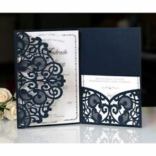 Invitation Cards For Wedding Laser Cut Classic Elegant Design Event Party Supply