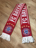 AUTHENTIC BAYERN MUNICH MUNCHEN FOOTBALL FAN SCARF OFFICIAL PRODUCT