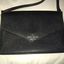 Kate Spade New York Cedar Street  Monday Envelope Crossbody Bag. Black purse.