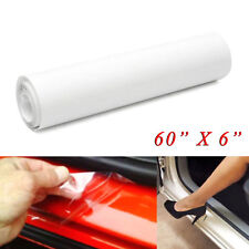 "60""x 6"" Car Door Sill Edge Paint Clear Protection Scratches Vinyl Film Sticker"